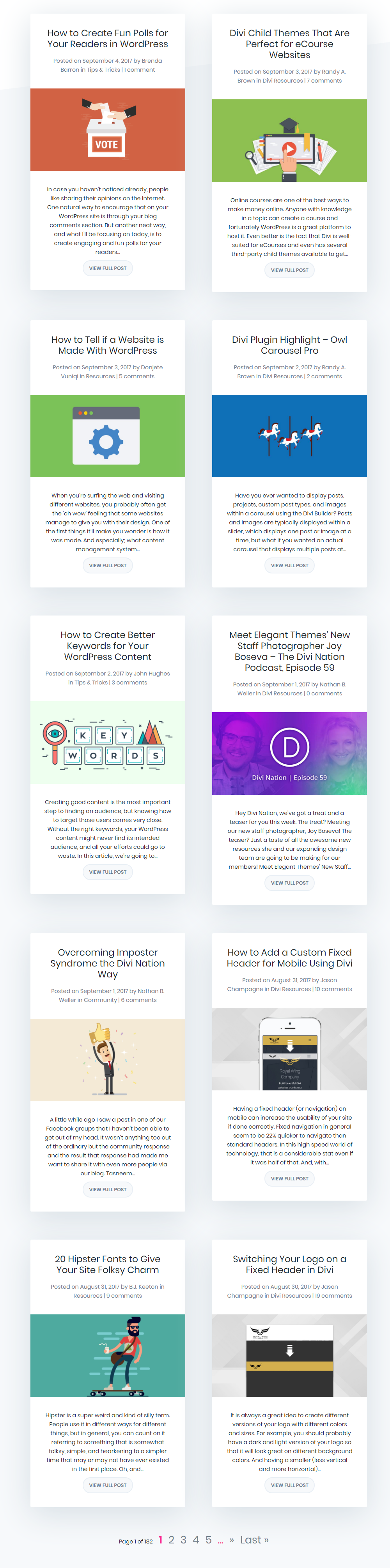 Numerous tips and tutorials to get the most out of Divi