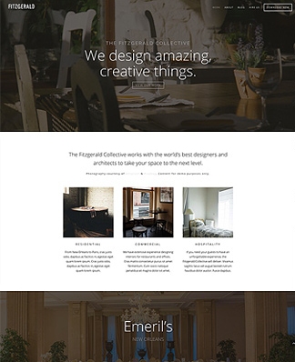 example of a divi corporate site