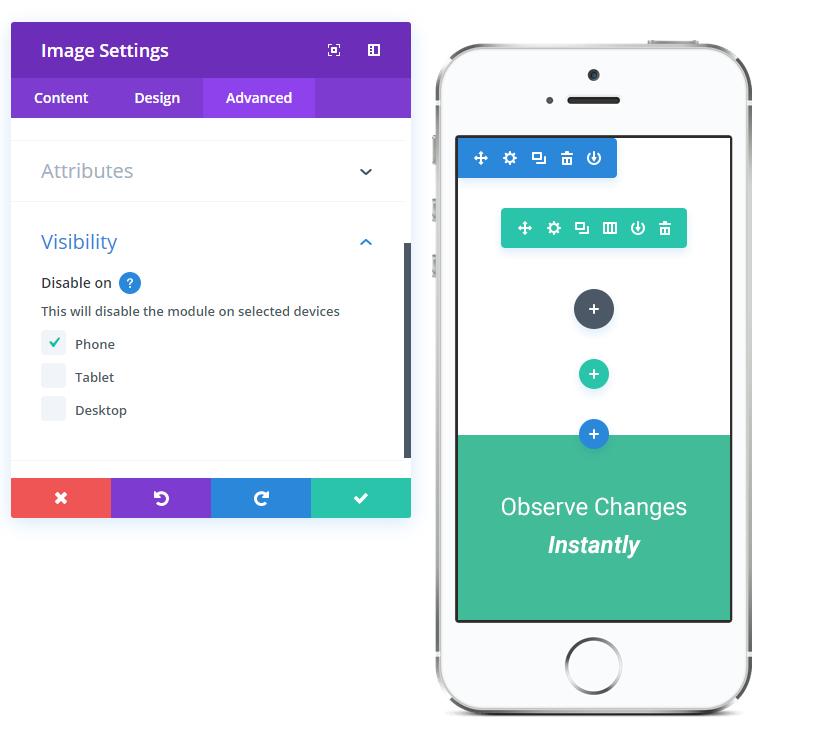 Make custom edits to mobile website design pt 1