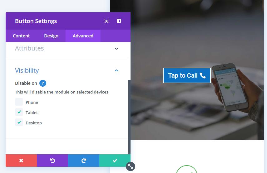 Make custom edits by device display
