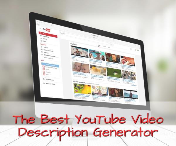 Youtube Video Description Generator 2019   Online Marketing